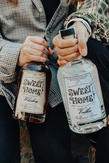 Sweet Home Spirits Bottles